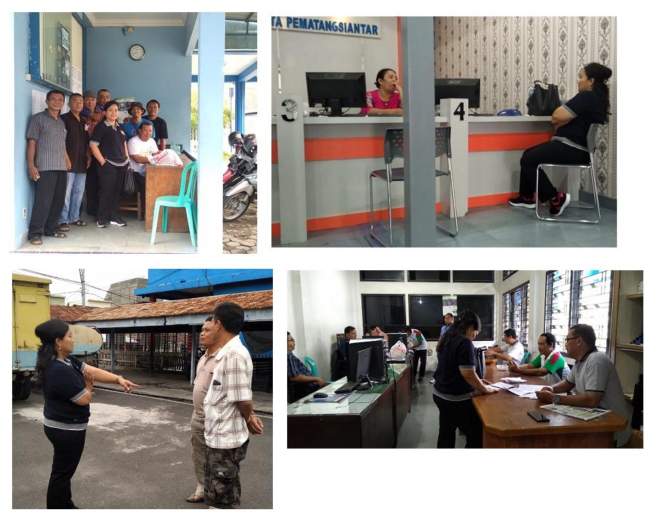 Rangkaian Kegiatan Direksi Bersama Petugas Piket Siaga (storing) PDAM Tirtauli